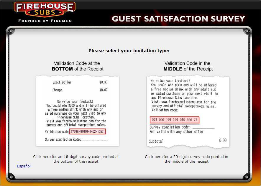 Firehouse Subs Guest Experience Survey 2020