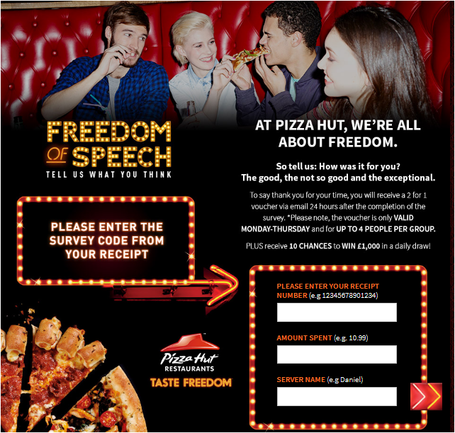 www.tellpizzahut.co.uk Homepage